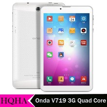 Onda V719 3G WCDMA tablet pc MTK8312 Quad core 7 Inch phone call tablet Phablet