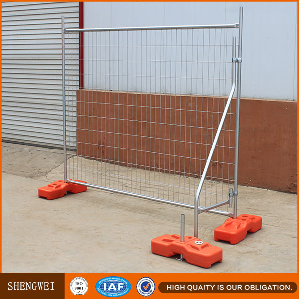 Galvanzied Australian welded wire mesh temporary fence panels