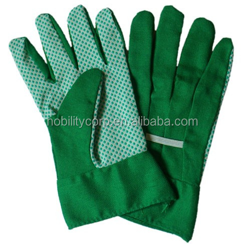 Cotton Garden Glove Ce Certification Women Children Pvc