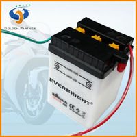 autobike use dry charged battery 6N4-2A 4AH
