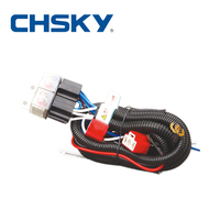 Hot sale waterproof 2 12v ceramic h4 headlight relay wiring harness CH1202ET