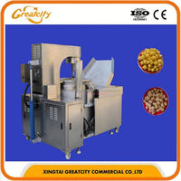 Automatic Industrial Professional Hot Air Sweet Mushroom Popcorn Machine price
