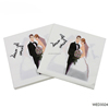 Luncheon Dinner Arab Style Paper Napkin Serviettes Printing Bride and Groom for Weeding Party Decoration Napkins