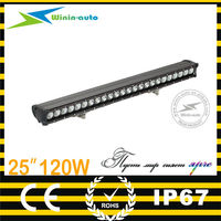 top products 25inch 120W LED driving light bar for offroad led light bars for trucks 8400 lumen WI9017-120