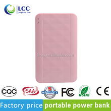 Universal power bank outdoor charger 4000mAh power bank for macbook pro