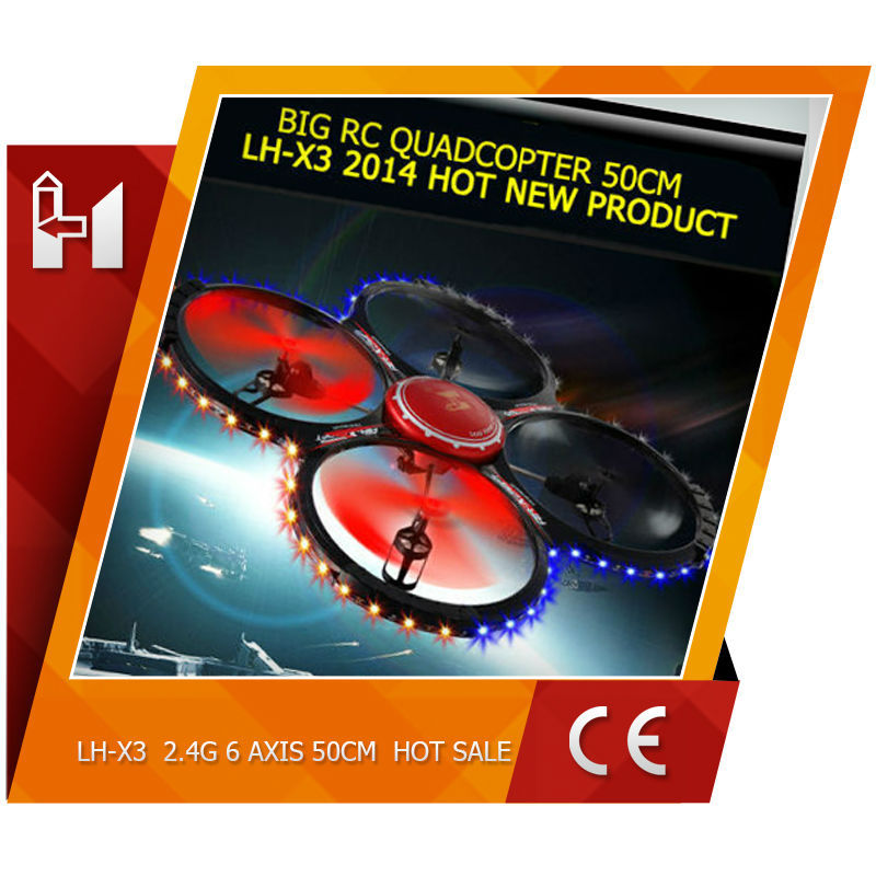 VS U818A 59cm length 2.4GHz 4 CH 6 Axis Gyro remote control RC Quadcopter drone walmart christmas gifts