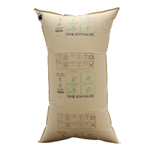 High quality cargo kraft paper brown inflator dunnage air bag made in china