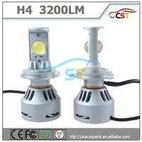 2016 High power 2 years warranty CST 360 degree 6G H7 LED headlamp 6400lm 40w led car bulb