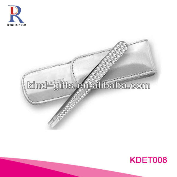 2013 The Most Fashionable Bling Rhinestone Diamond Slanted Tweezers Supplier|Factory|Manufacturer