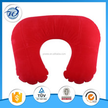 Wholesale custom cheap folding air inflatable travel neck pillow