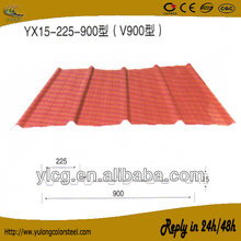 standard colourful roof sheets price per sheet for sale