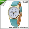 5 Colors Quartz Wrist Women Cat Ears Watch
