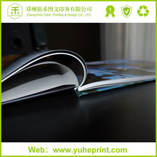 China mainland south fectory perfect binding art gloss coated paper professional printing my hot book a4 size sex book