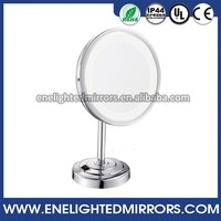 Best quality Bathroom fogless makeup shaving mirror hotel makeup mirror with led lighting