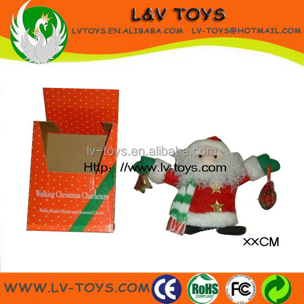 Musical Christmas electric santa claus toy