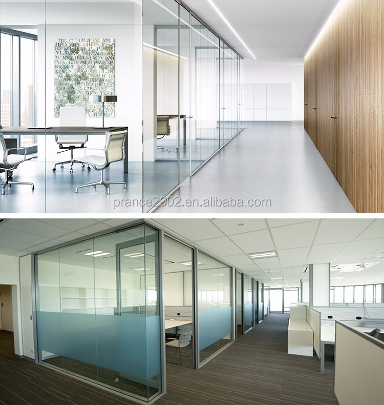 New Products high quality glass partition