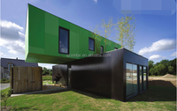 40 feet 20 feet sandwich plate pre-built container combined portable container house,