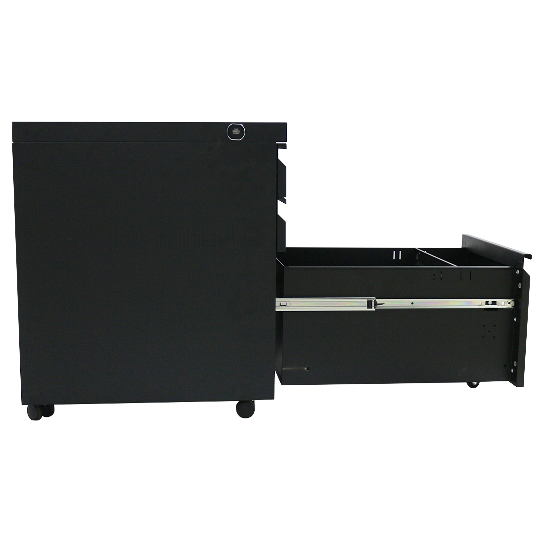Office Documents Sale Movable Full Hot High Quality Steel Cabinet 2-drawer File 3 Drawers Mobile Pedestal With Combination Lock