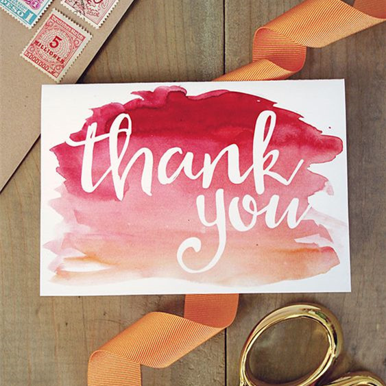 Wholesale Thank You Card Customized Design Thank You Card
