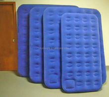 inflatable single airbed / inflatable flocking air mattress