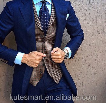 100% wool Tailor custom made suits for men