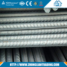 China factory standard size 6mm 8mm 10mm 12mm grade 40 60 reinforced deformed steel bar