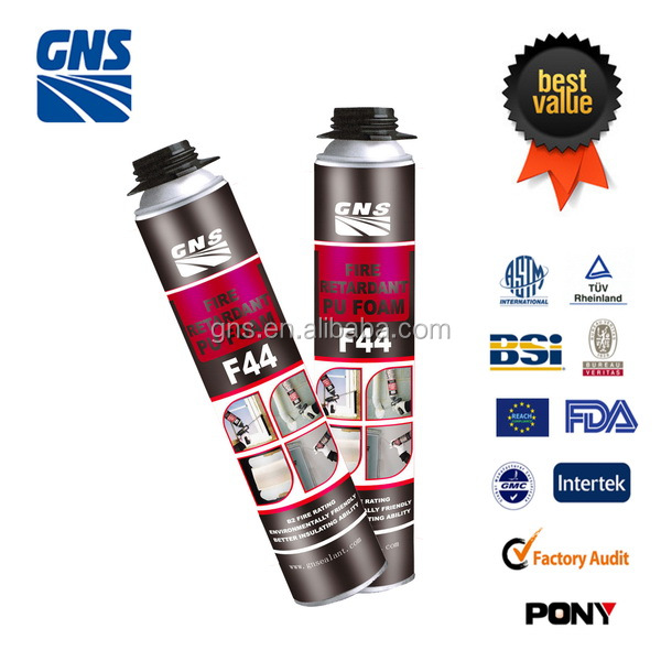 fire resist spray pu foam sealant for construction