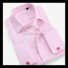 Alibaba wholesale latest design long sleeve plain shirt with printed tie
