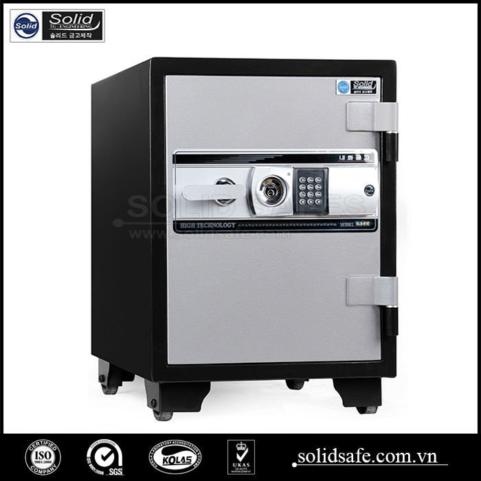 Fire resistant electric digital office safe, bank safe