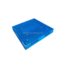 4-way single faced cheap plastic pallet with nine foot