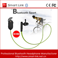 2016 newest sport accessory bluetooth wireless headphone earphone with mic for Huawei HTC iPhone blackberry samsung universal