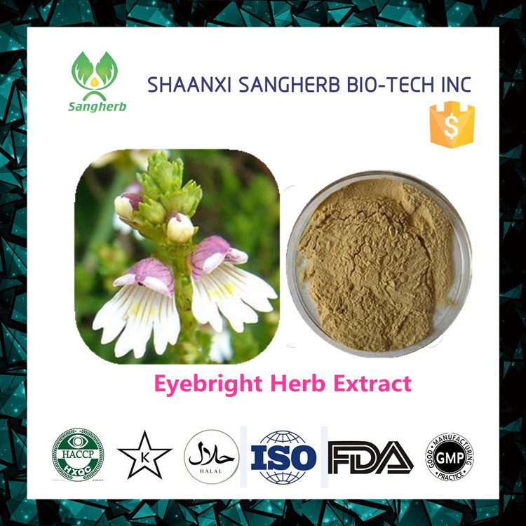 2017 New organic eyebright herb extract powder with best quality and low price