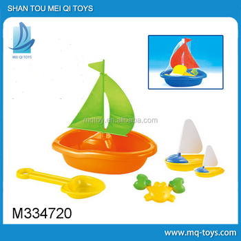 Novelty Plastic Beach Sand boat Set new product summer toy gift promotion toy beach toy Made in china china children toys