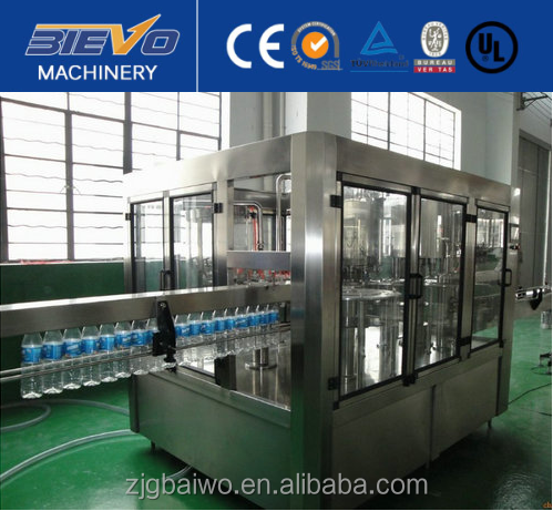 Industrial equipment suppliers mineral water bottling machine/plant