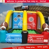 Sport Game Inflatable handball hut, inflatable football target, inflatable soccer pitch
