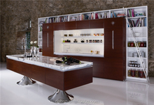 2015 popular individual marble top kitchen cabinet whole set