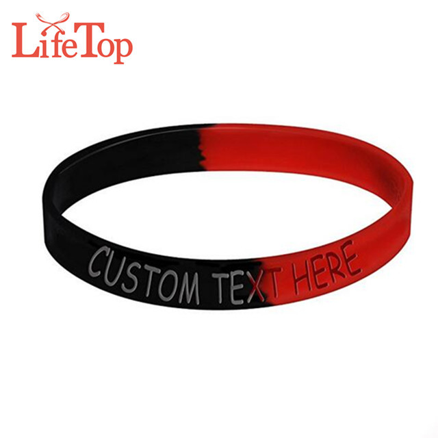 Wholesale Customizes Eco-friendly camouflage anti-mosquito soft rubber wristband