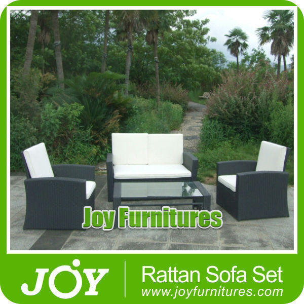 Assembly Rattan Sofa Wicker Garden Sofa Leisure Products