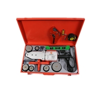 1500w doulble Insulator six sockets plastic ppr pipe welding machine