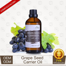 OEM/ODM Supply Grapeseed Carrier Oil Base Oil Massage Oil for Skin Care 30ml