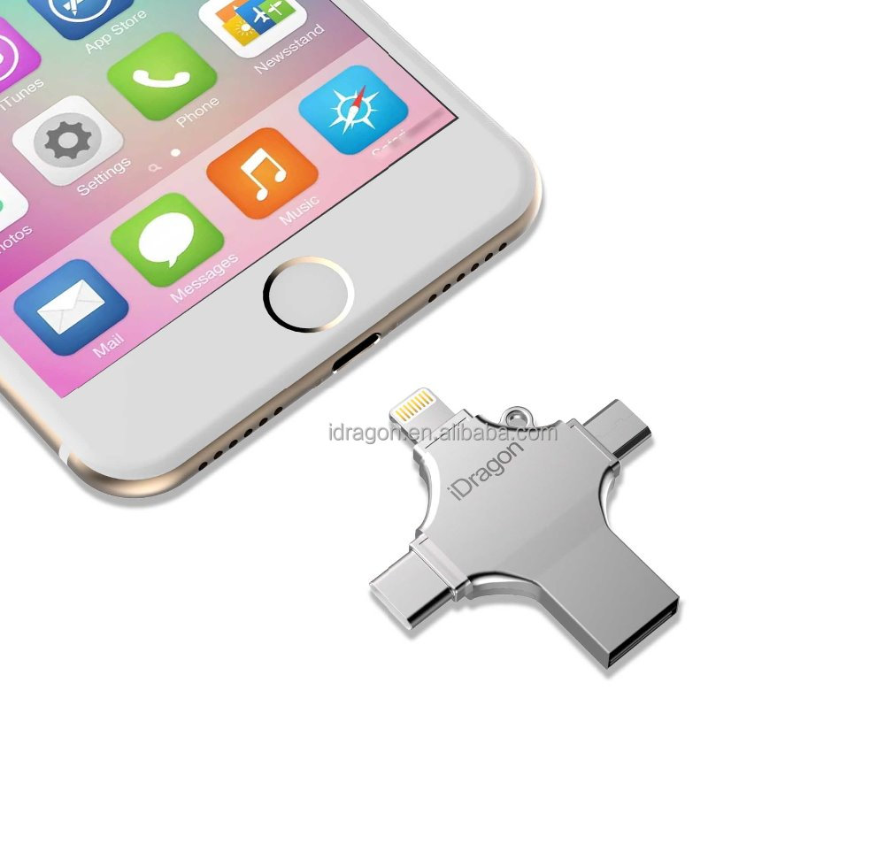 hot selling Metal usb 2.0 otg flash drive 64gb with custom logo flash drive