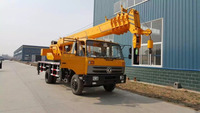 12 ton small Mobile Truck Crane for sale with low price DLXQY-C12