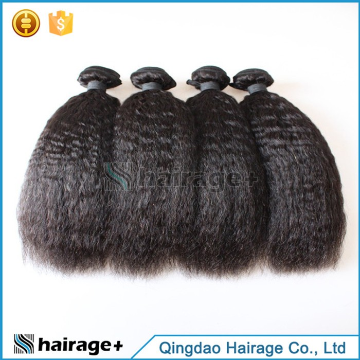 Factory Direct Price Cheap Afro Kinky Curly Virgin Human Hair Weave