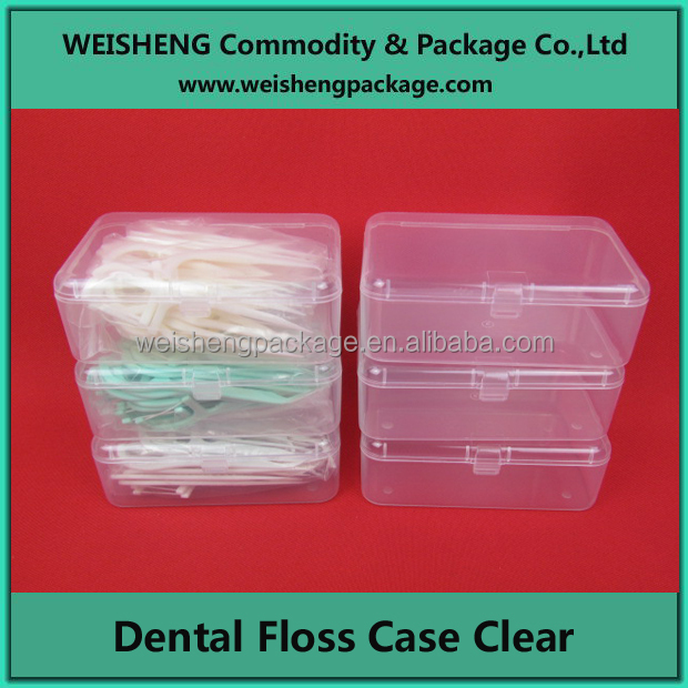 Manufactory hot sale cheapest PP dental floss case
