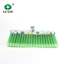 Hot China products floor cleaning low price long handle bristle brush stick plastic broom head