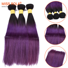 Malaysian Hair Wholesale 100% Unprocessed virgin hair straight ombre hair extensions
