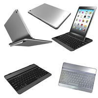 For iPad 5 iPad Air Aluminium Bluetooth Keyboard