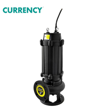 WQ Series Cast Iron Vertical Centrifugal Electric Non-Clog Submersible Sewage Pump for dirty water 7.5hp
