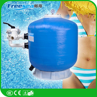Swimming pool filter series Professional bobbin wound sand filter for sale
