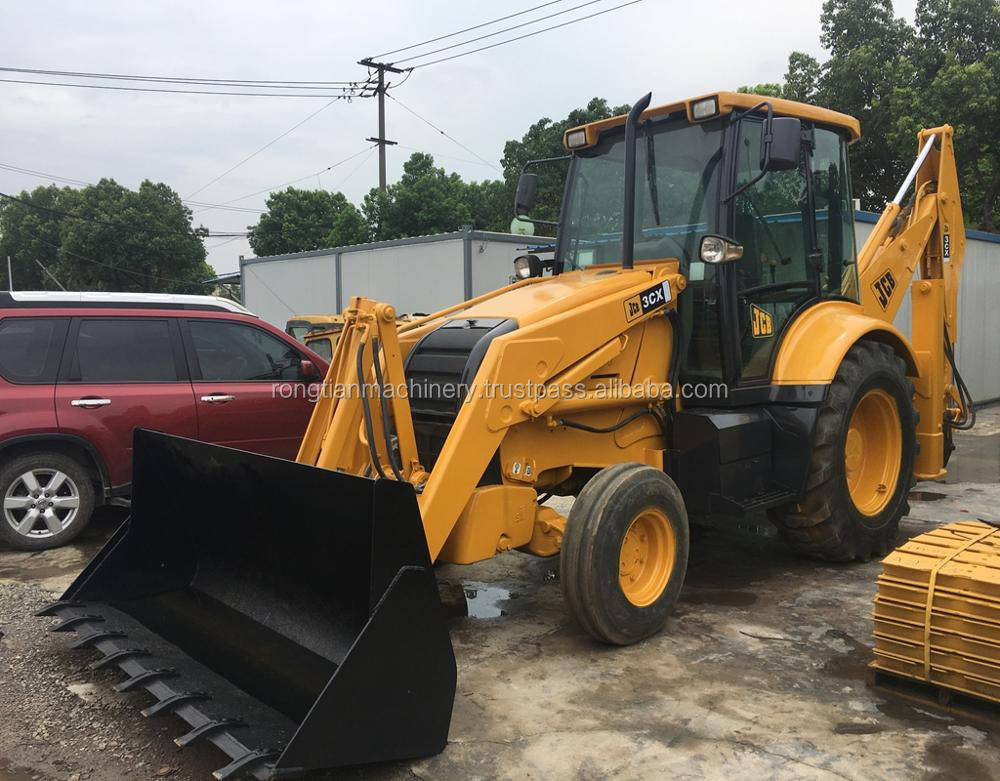 Good quality used JCB backhoe loader 3CX for sale/ JCB loader with low price